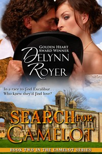 Light Historical Romance, Search for Camelot by Delynn Royer